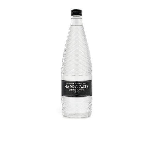Harrogate Spa Still Spring Water 750ml Glass Bottles, Pack of 12 - G750121S