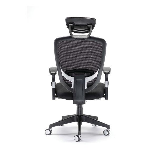 Arista Lexi Black Headrest High Back Office Chair