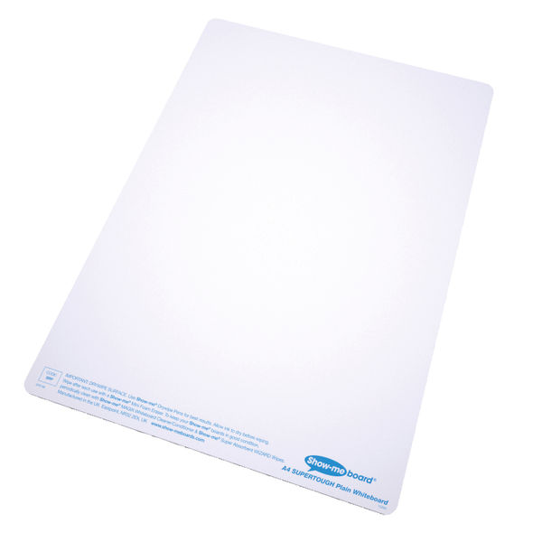 Show-me A4 SUPERTOUGH Drywipe Boards Classroom Pack - B/SRP