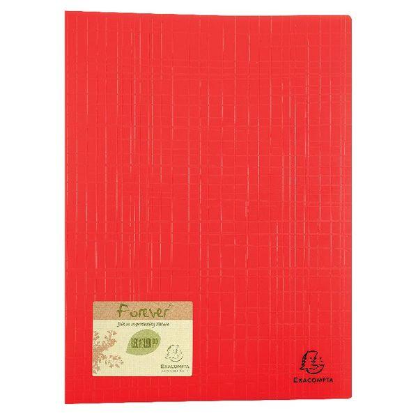 Exacompta Forever Display Book 50 Pocket Assorted (Pack of 8) 885570E