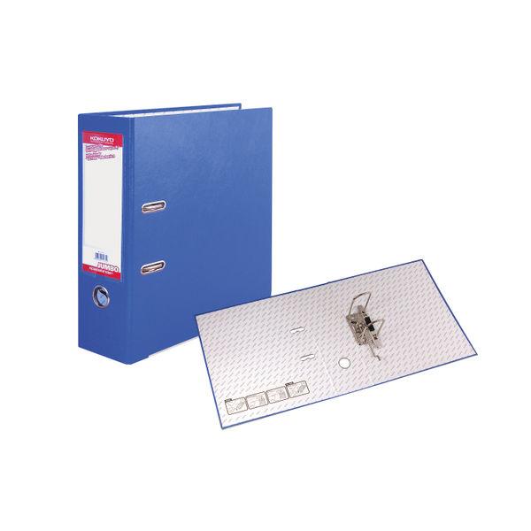 Sterling Blue A4 Kokuyo Space Binder Jumbo Lever Arch File 85mm - FF291B