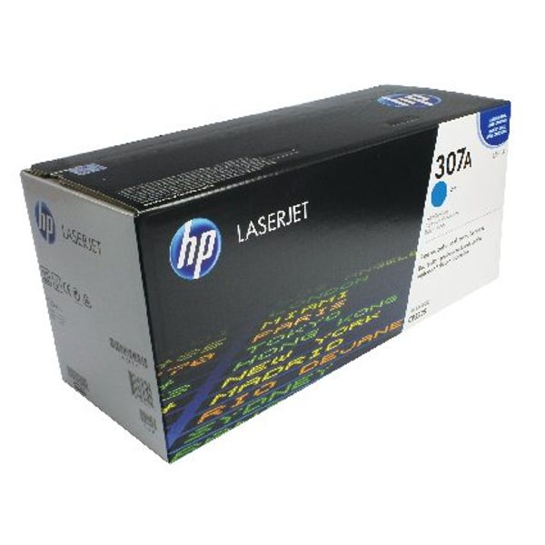 HP 307A Cyan LaserJet Toner Cartridge | CE741A