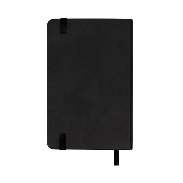 Silvine A6 Black Executive Notebook - 196BK