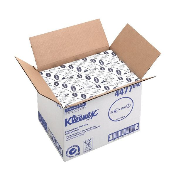 Kleenex 2-Ply Bulk Pack Toilet Tissues, Pack of 27 - 4477