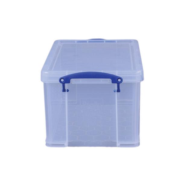 Really Useful 14L Plastic Storage Box 255 x 395 x 210mm Clear 14C