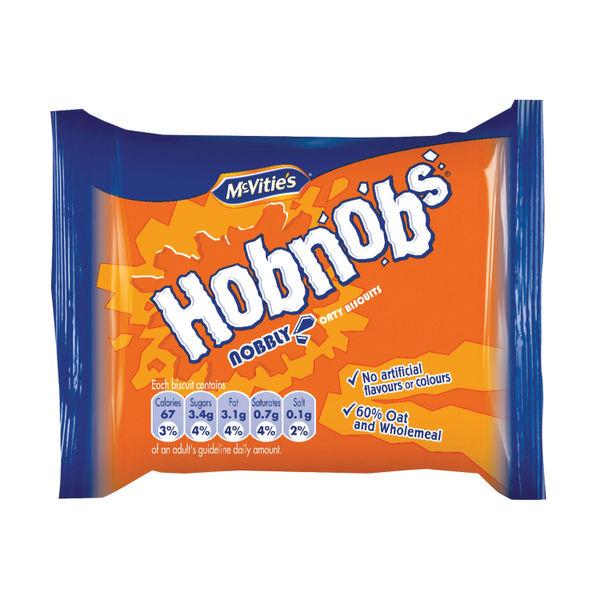 McVities Hobnobs Biscuits Twin Packs, Pack of 48 - 39706