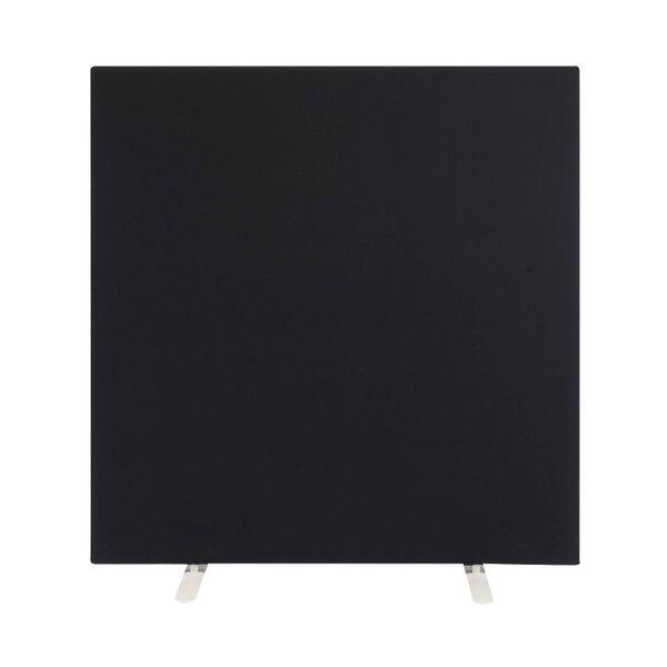 Jemini W1600 x H1600mm Black Floor Standing Screen