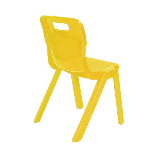 Titan 460mm Yellow One Piece Chair