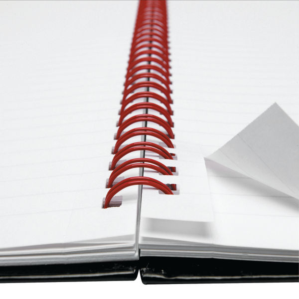 Black n Red Hardback Wirebound Project Book 200 Pages A4+ (Pack of 3) 100080730
