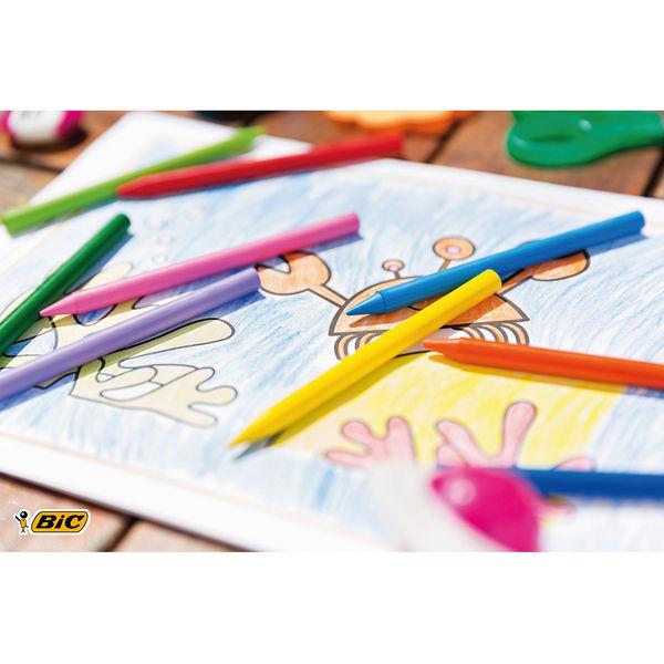 Bic Plastidecor Crayons (Pack of 24) - 8297721