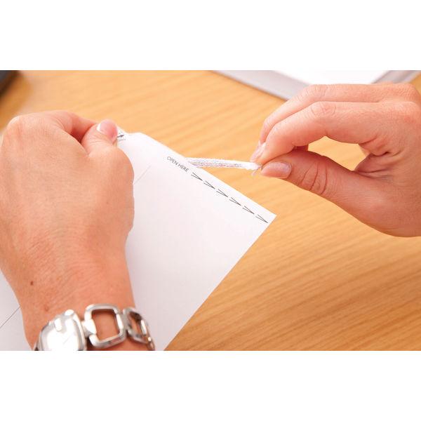 Plus Fabric DL White Plain Wallet Envelopes, Pack of 500 - E27370