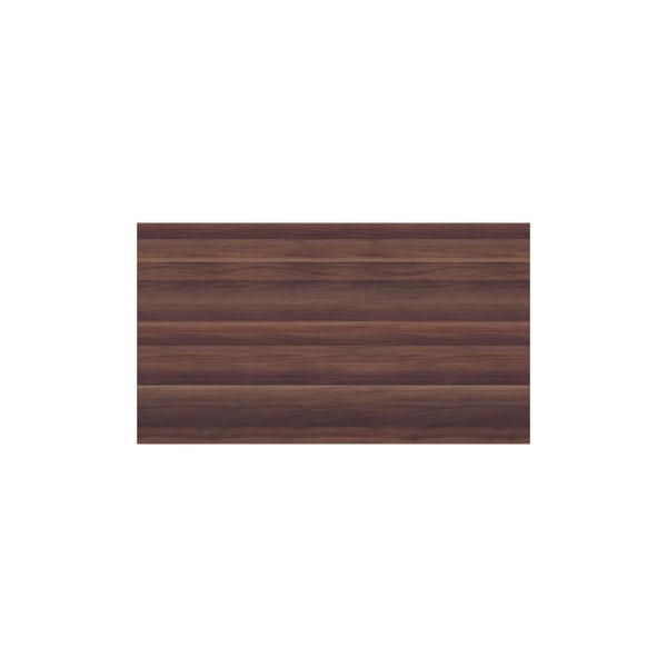 Jemini 1200 x 450mm Dark Walnut Wooden Bookcase