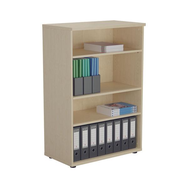 Jemini 1200 x 450mm Maple Wooden Bookcase