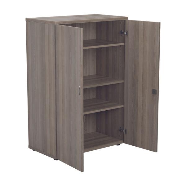 Jemini 1600 x 450mm Grey Oak Wooden Cupboard