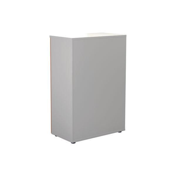 Jemini 1600 x 450mm White/Beech Wooden Cupboard