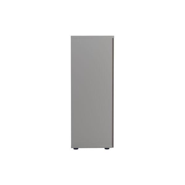 Jemini 1600 x 450mm White/Grey Oak Wooden Cupboard