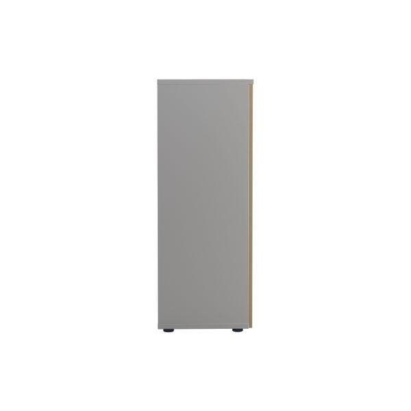 Jemini 1600 x 450mm White/Maple Wooden Cupboard