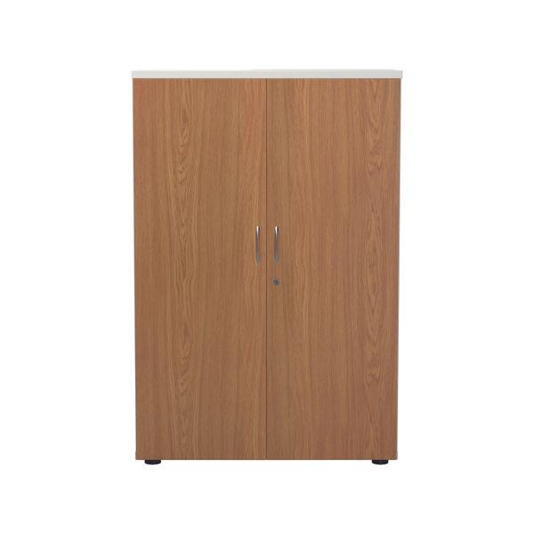 Jemini 1600 x 450mm White/Nova Oak Wooden Cupboard