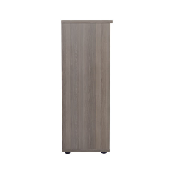 Jemini 1600 x 450mm Grey Oak Wooden Bookcase
