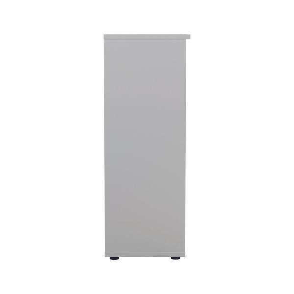 Jemini 1600 x 450mm White Wooden Bookcase