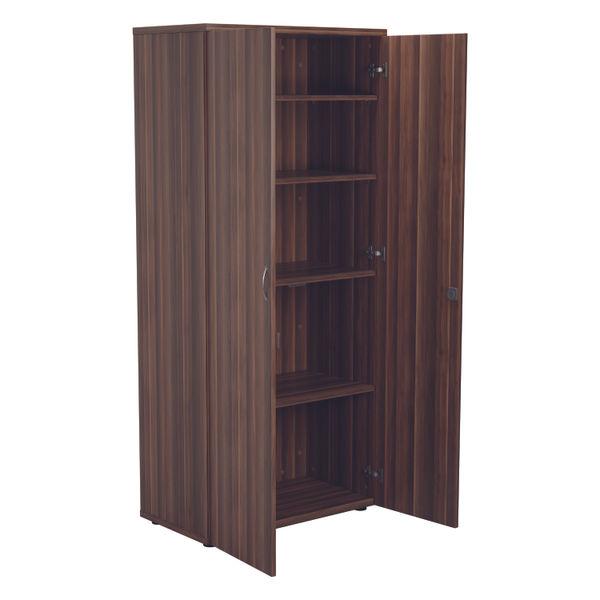 Jemini 1800 x 450mm Dark Walnut Wooden Cupboard