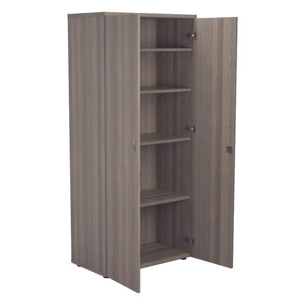 Jemini 1800 x 450mm Grey Oak Wooden Cupboard
