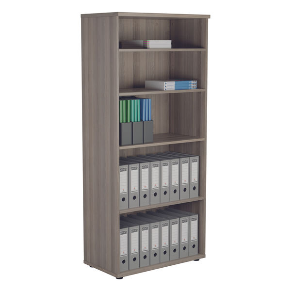 Jemini 1800 x 450mm Grey Oak Wooden Bookcase