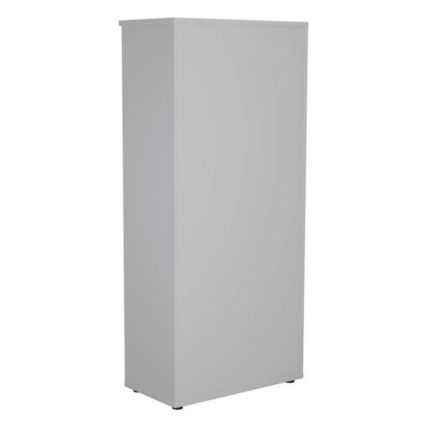 Jemini 1800 x 450mm White Wooden Bookcase