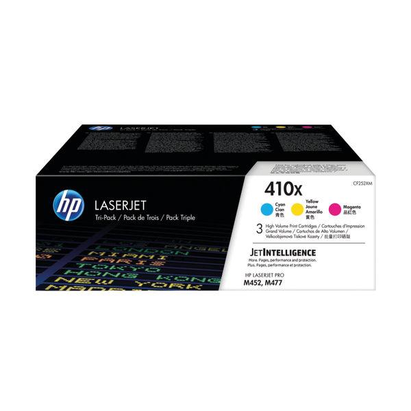 HP 410X High Yield Colour LaserJet Toner Cartridge, Tri-Pack | CF252XM