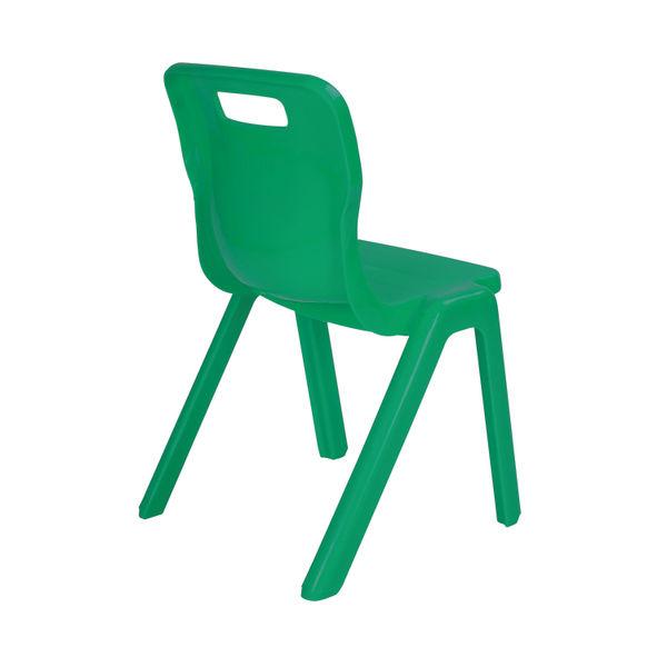 Titan 430mm Green One Piece Chair – T5