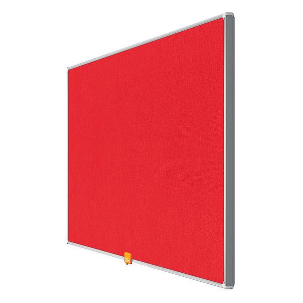 Nobo Noticeboard 32 Inch Felt Red 1905310