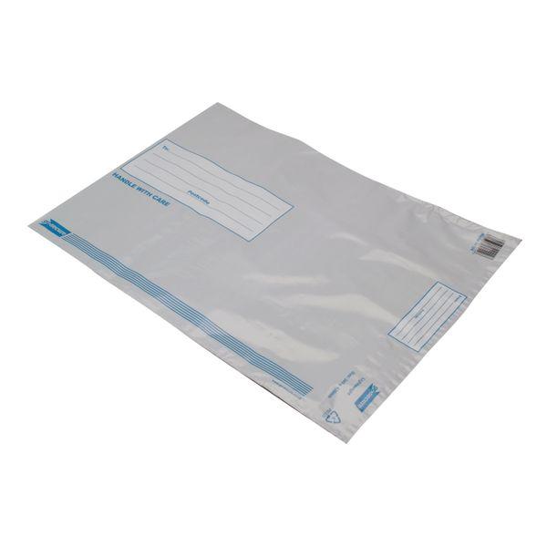 GoSecure 460 x 430mm Lightweight Polythene Envelopes, Pack of 100 | PB11128