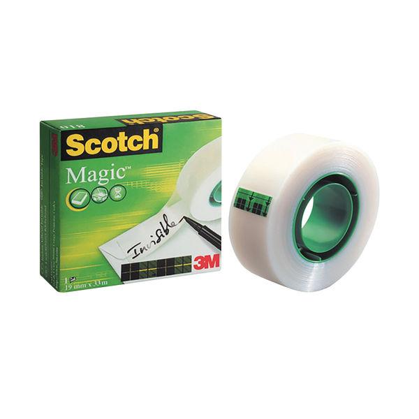 Scotch Magic 810 19mm x 33m Tape - 8101933