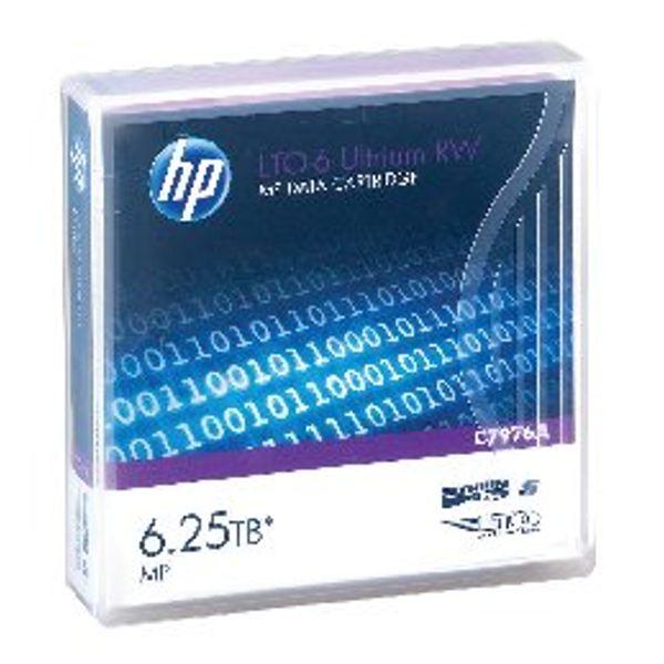 HP Ultrium LTO-6 2.5TB Data Cartridge - C7976A