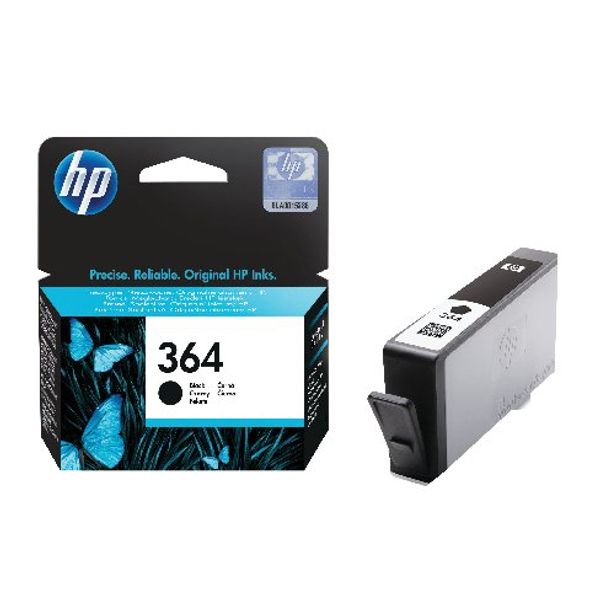 HP 364 Black Ink Cartridge | CB316EE