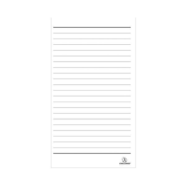 Challenge Carbonless Triplicate Ruled Book, 100 Slips (Pack of 5) - D63061