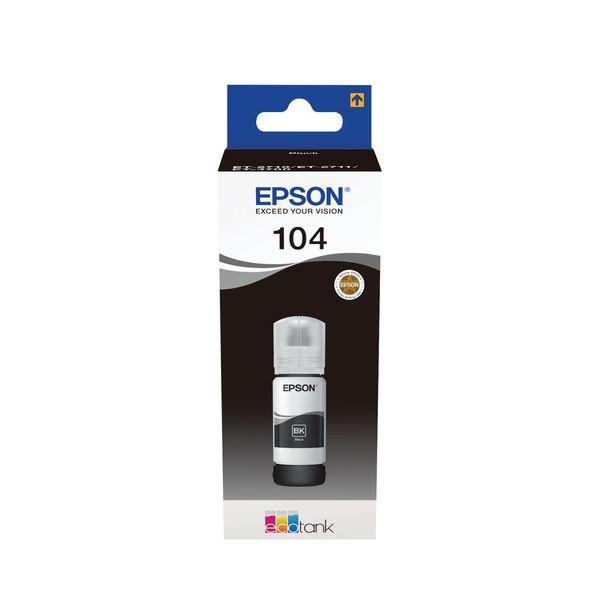 Epson 104 Black Ink Bottle - C13T00P140