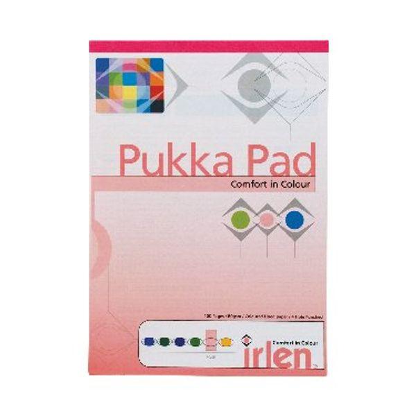 Pukka Pad Rose A4 Refill Pads, Pack of 6 - IRLEN50(ROSE)