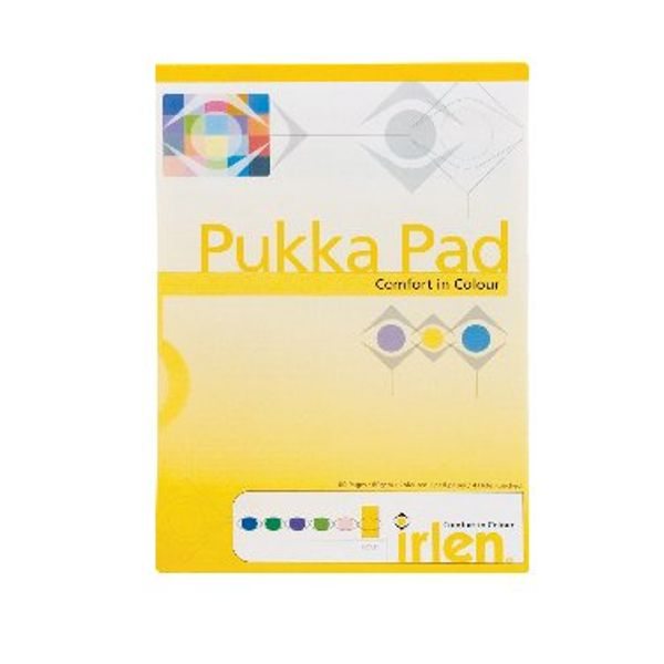 Pukka Pad Gold A4 Refill Pads, Pack of 6 - IRLEN50(GOLD)