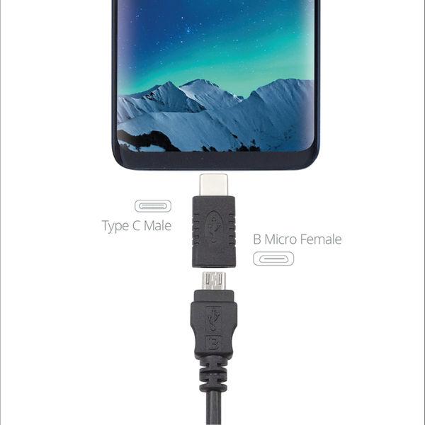 Connekt Gear USB 2 Adapter C-Male to B Micro MHL Female +OTG 26-0440