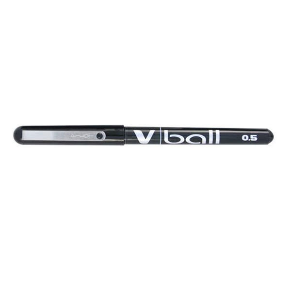 Pilot V-Ball Extra Fine Black Liquid Ink Pen, Pack of 12 - BLVB5-01
