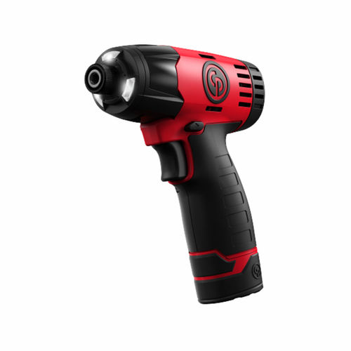 Chicago Pneumatic CP8818-Pack Impact Driver 12V Cordless 1/4 Inch (2 x 1.5Ah Batteries)