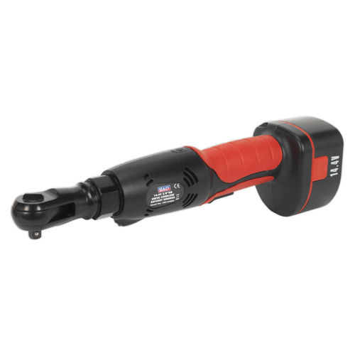 "Sealey CP2144MH Cordless Ratchet Wrench 14.4v 2ah Ni-mh 3/8""sq Drive"