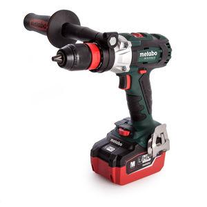 Metabo SB 18 LTX BL Q I 18V Cordless Brushless Combi Drill with Impuls (2 x LiHD 5.5Ah Batteries)