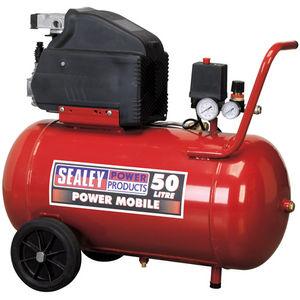Sealey SA5020 Compressor 50ltr Direct Drive 2hp