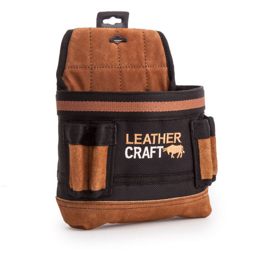 Leather Craft LC201 Single Pouch With Large Pocket