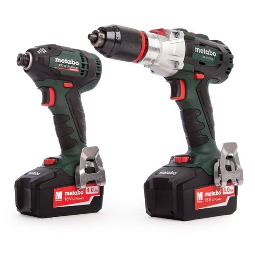 Metabo COMBOLTXBL4.0 Brushless 18V Twinpack (2 x 4.0Ah Batteries)
