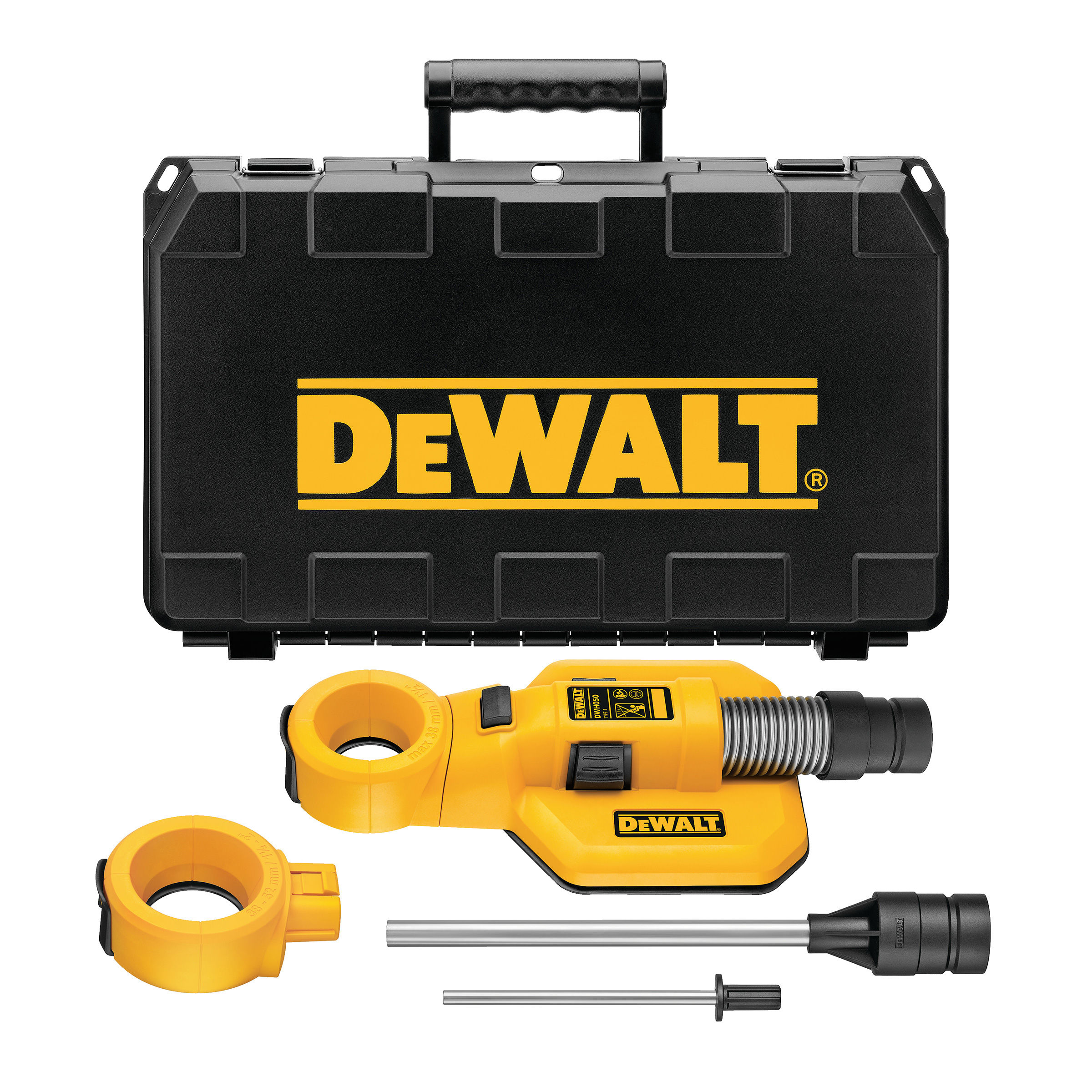 Dewalt Dust Extractor >> Dewalt Dwh050 Drilling Dust Extraction System Hole Cleaning