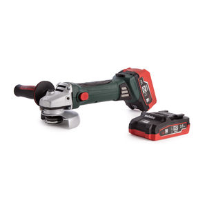 Metabo W18LTX Cordless Angle Grinder + 2 x Batteries & Charger