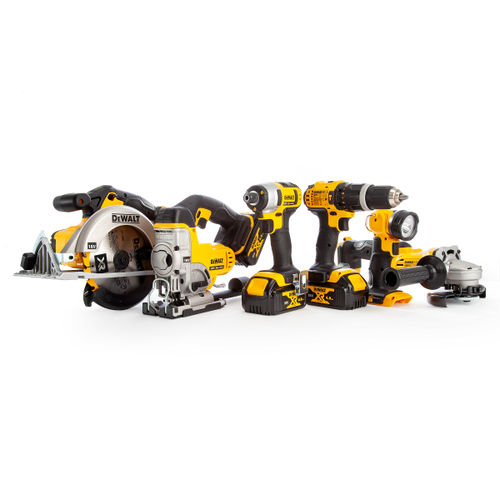 Dewalt DCK691M3 18V XR li-ion 6-Piece Cordless Package (3 x 4.0Ah Batteries) - 2 x TOUGHSYSTEM Kitboxes